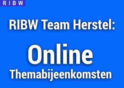 Team Herstel – Online Themabijeenkomsten Januari en Februari 2021