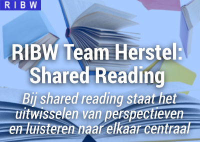 Team Herstel Shared Reading (on-line) (nieuwe startdatum)