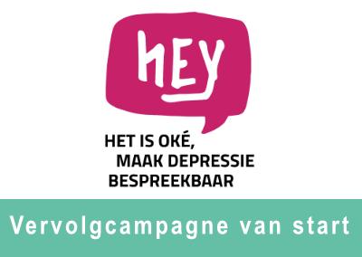 Vervolgcampagne 'Hey, het is oké' van start