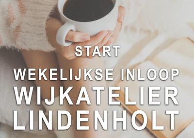 Start wekelijkse inloop Wijkatelier Lindenholt
