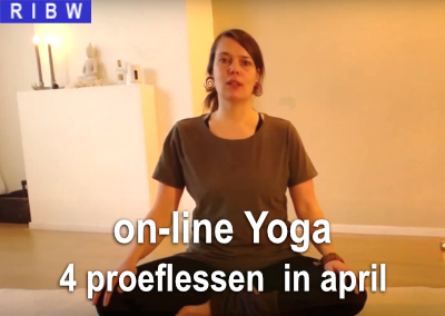 Proeflessen yoga in april (online)