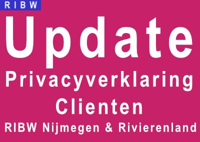 De Privacyverklaring voor cliënten van de RIBW is ge-update