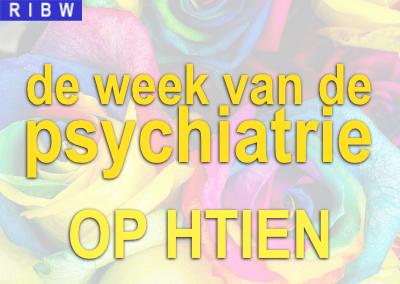 (Feest) Week van de psychiatrie op Htien