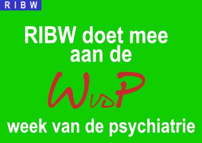 RIBW doet mee aan week van de psychiatrie