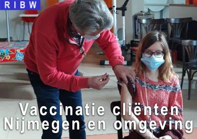 Vaccinatie cliënten 24uurszorg Nijmegen en omgeving