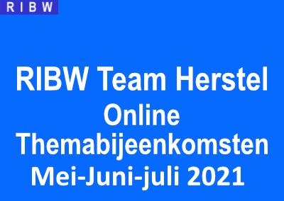 Team herstel: Online bijeenkomsten mei-juni-juli